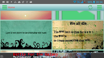Screenshot of Quotes in Images