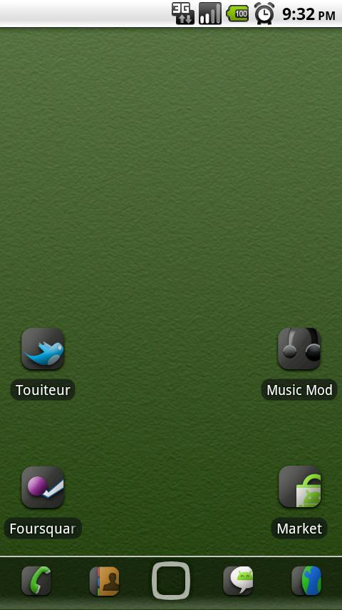 Fluxed ADW Theme - screenshot