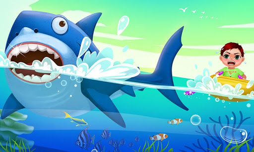 Shark Attack Kids Hero Rescue