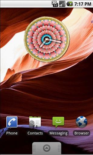 Mandala 2 Clock Widget