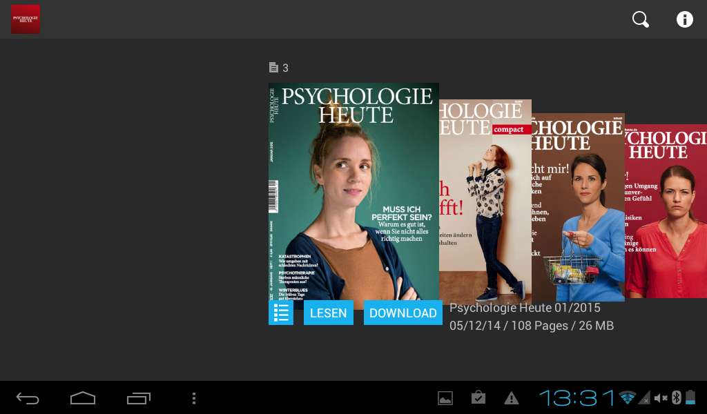 Psychologie Heute- screenshot