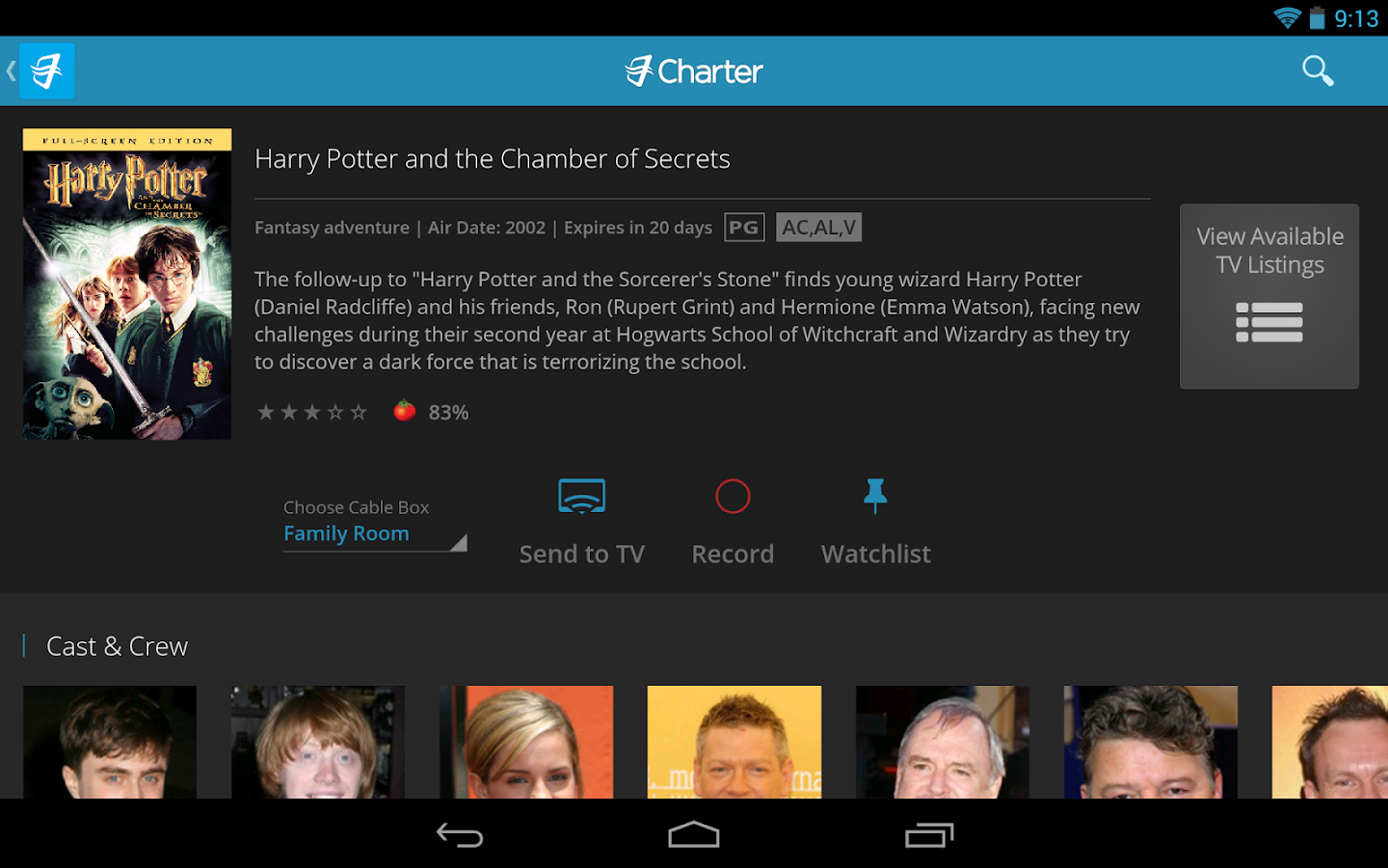 Charter TV - screenshot