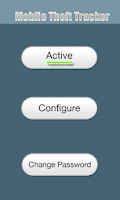 Screenshot of Mobile Theft Tracker