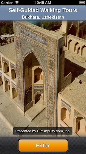 Bukhara Map and Walks