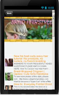 辫子发型HD|玩生活App免費|玩APPs