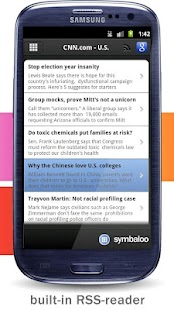 Symbaloo - screenshot thumbnail