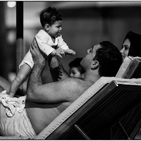 Father and Son by Bhong Sangalang - People Street & Candids ( candid, people )