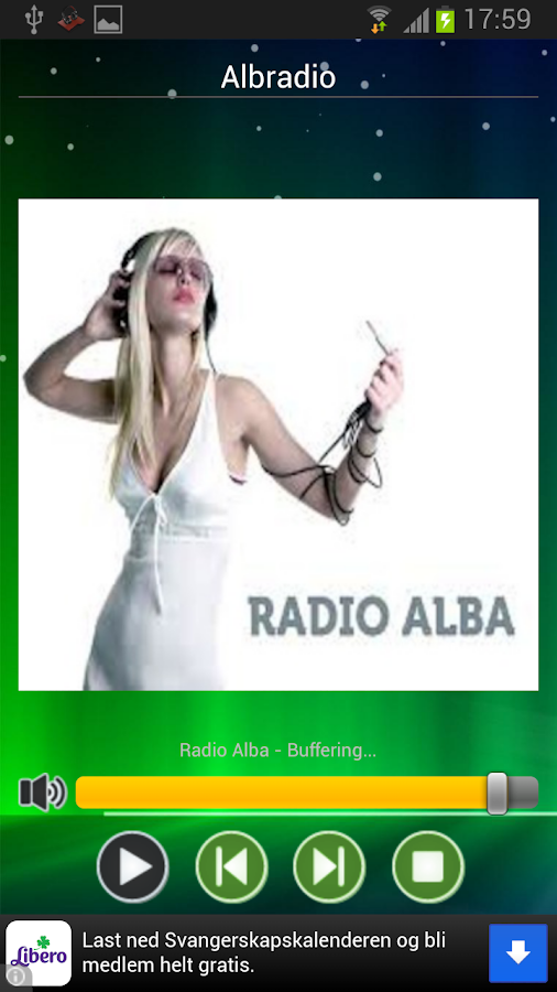 AlbRadio shqip - screenshot