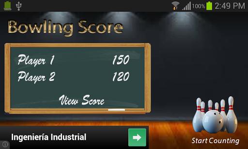 【免費娛樂App】BowlingScore-APP點子