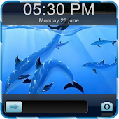 3D Fish Go Locker Theme