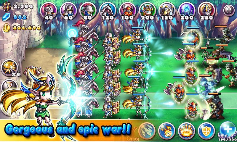 Empire VS Orcs – snímek obrazovky