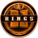 Next Launcher 3D RingsO Theme icon