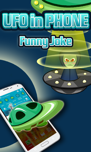 UFO in Phone Funny Joke