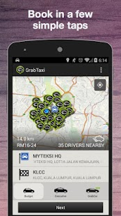 GrabTaxi: Taxi Booking App - screenshot thumbnail