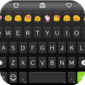 Black Love Emoji Keyboard