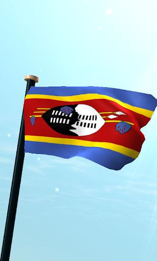 斯威士蘭旗3D動態桌布