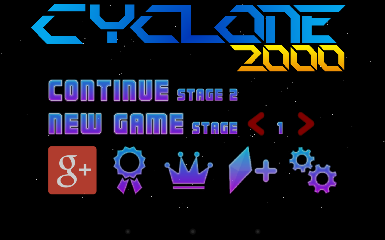 Cyclone 2000- screenshot