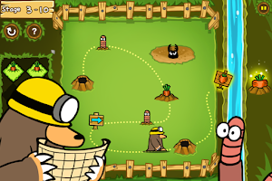 Screenshot of Hungry Mole