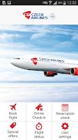 Screenshot of Czech Airlines