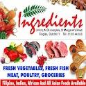 Ingredients Asian supermarket icon
