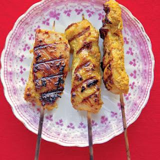 Satay Ayam (Chicken Satay).