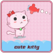 CUTE KITTY CLAUNCHER THEME