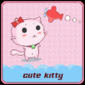 CUTE KITTY CLAUNCHER THEME