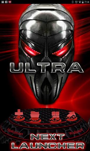 다음 런처 테마 ULTRA 3D