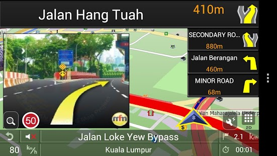PAPAGO! GPS Navigation SG&MY - screenshot thumbnail