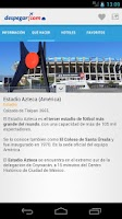 Screenshot of México DF: Guía turística