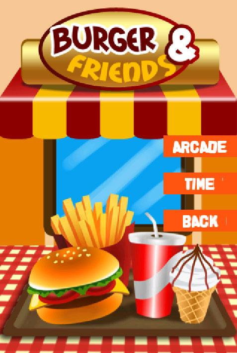 Burger and Friends - screenshot