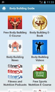 Body Building Guide! - screenshot thumbnail