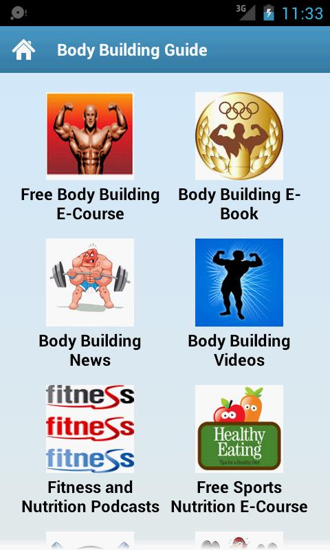 Body Building Guide! - screenshot