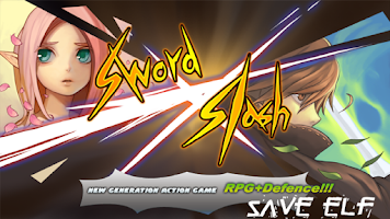 Screenshot of Sword slash