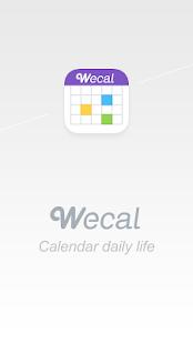 WeCal- Calendar Google/Weather - screenshot thumbnail