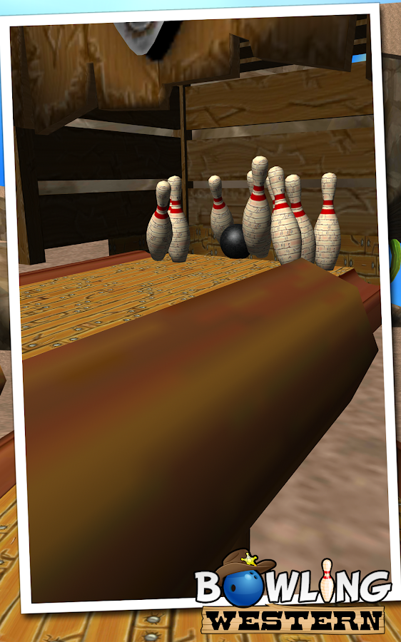 Bowling Western- screenshot