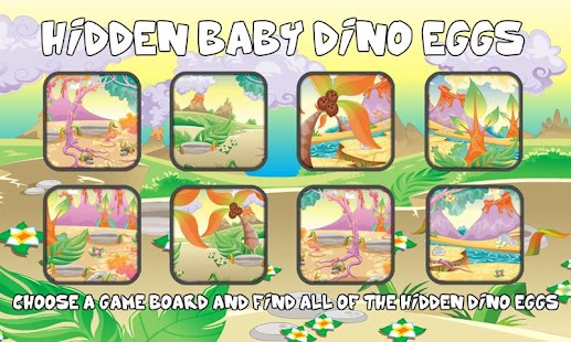 Dino Eggs Hiddens Objects Game - screenshot thumbnail