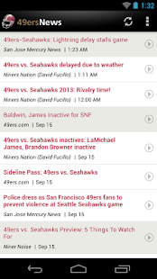 49ers News - screenshot thumbnail