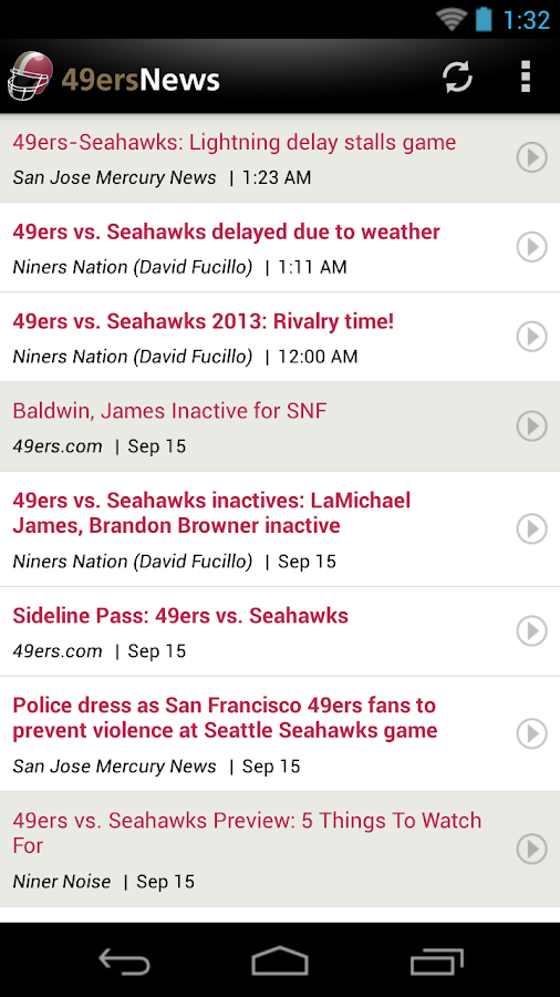 49ers News - screenshot