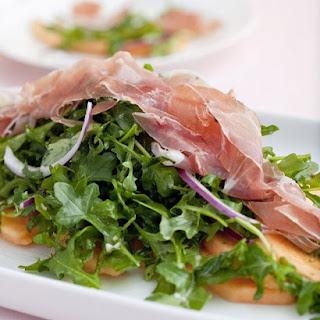 Cantaloupe, Prosciutto, and Arugula Salad