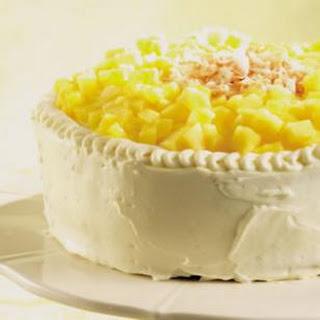 Pineapple-Coconut Layer Cake.