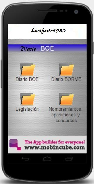 Diario BOE - screenshot