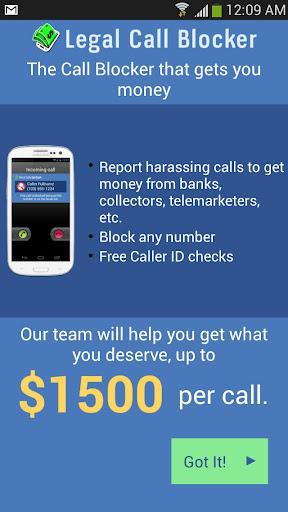 Legal Call Blocker FREE