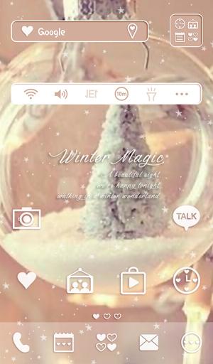 winter magic 도돌런처 테마