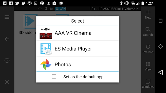 AAA VR Cinema Cardboard 3D SBS Screenshot