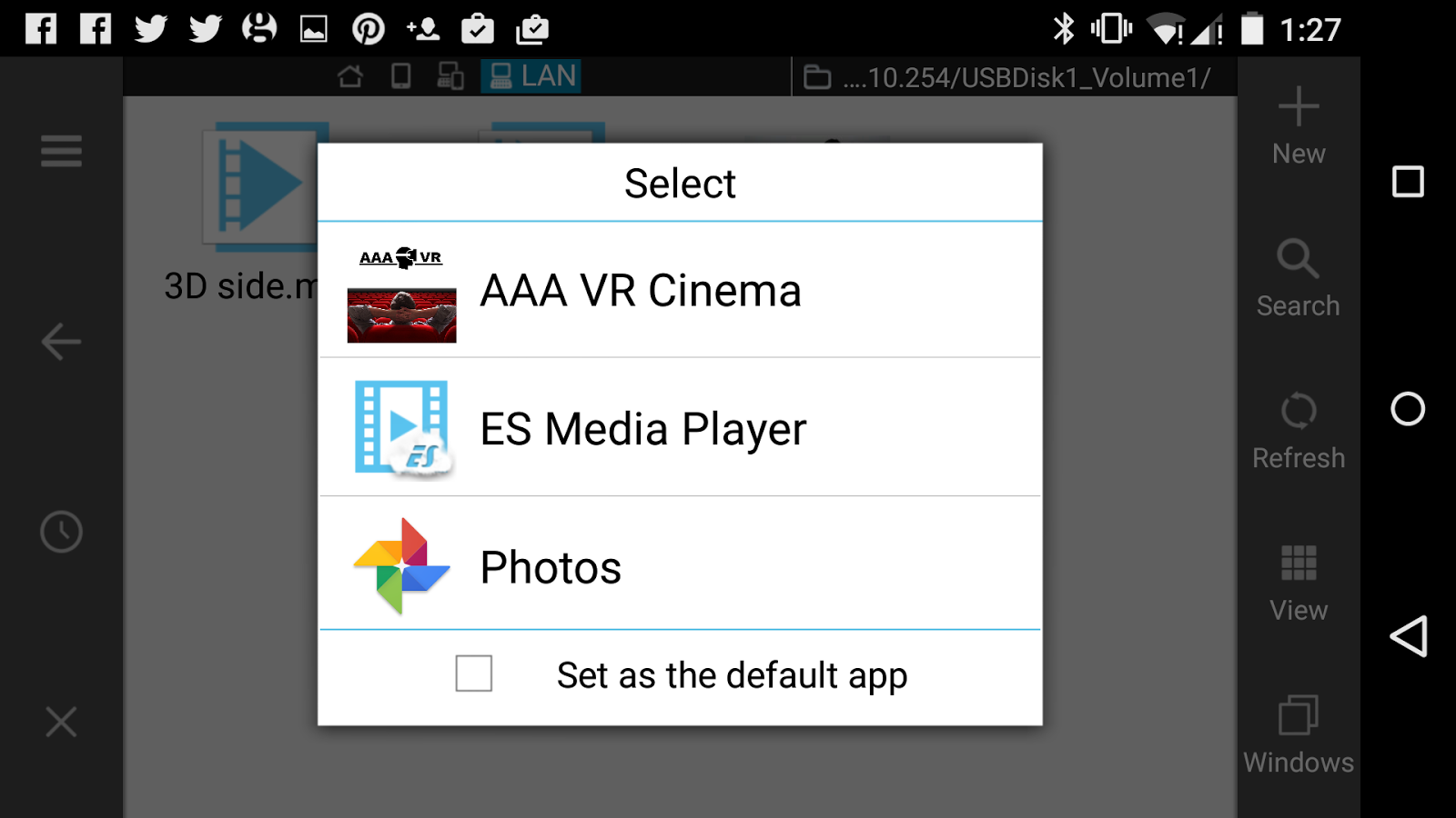 AAA VR Cinema Cardboard 3D SBS- screenshot