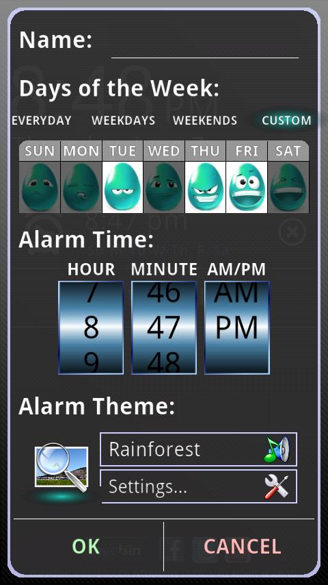 touchAlarm: Fun Alarm Clock - screenshot