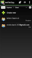 Screenshot of Cloud Client
