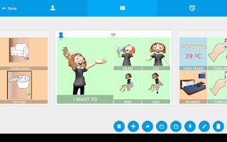 Screenshot of Autism AAC Speech 3D Symbols