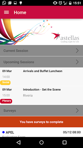 The Astellas Events App